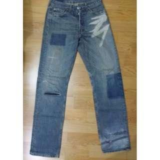 Levi's 小破壞 牛仔褲
