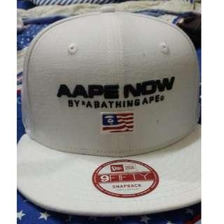 APE 棒球帽 全新