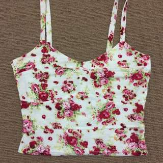 Floral Top Temp Size S
