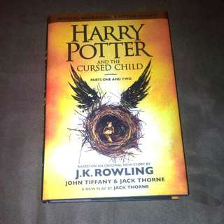 Harry Potter And The Cursed Child Latest Book