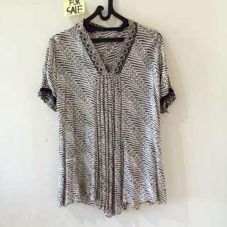 Black & White Batik