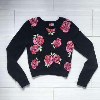 H&M Rose Sweater