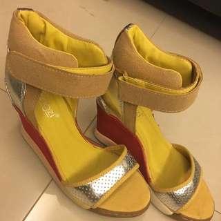 涼鞋23半