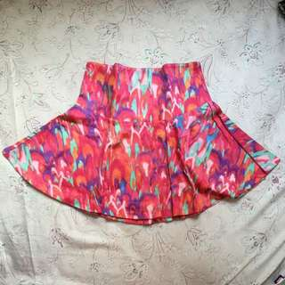 COLORBOX Mini Skirt