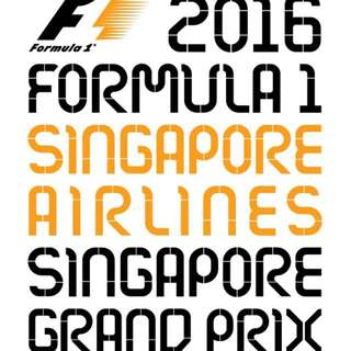 F1 Bay Grandstand Tickets