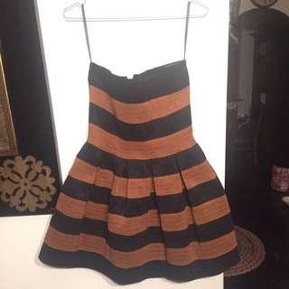 Talulah Strapless Bubble Dress Size S