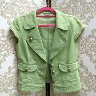 Chartreuse Vest