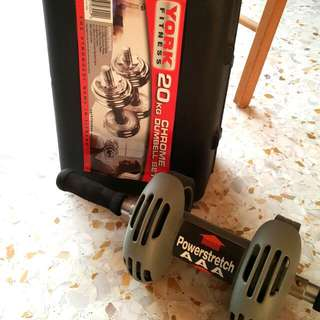 Dumbell And Power Stretch