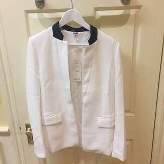 White Blazer Jacket 12