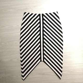 Bec And Bridge Striped Skirt Size 6