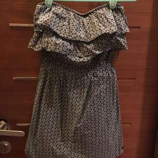Roxy平口荷葉洋裝