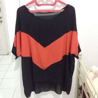 Preloved Black Shirt