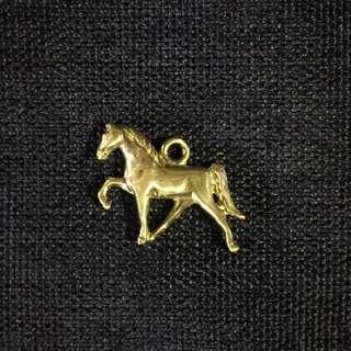925純銀馬項鍊墜子