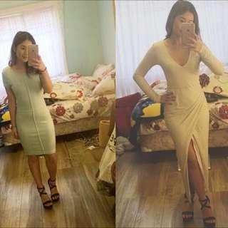 2 KOOKAI dresses- Size 0 And S