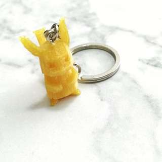LIMITED EDITION 3D PRINTED POKEMON KEYCHAIN