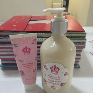 Royal Albert (handcream+bodylotion)