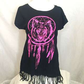 WOLF LOOSE TOP