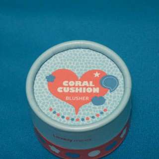 Lovely Me:Ex Coral Cushion Blusher