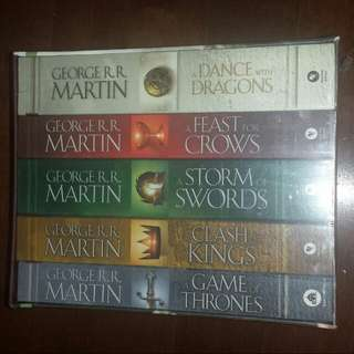 Game Of Thrones Paperback Boxset. Brandnew In Box.