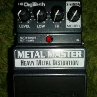 Metal Master x-series (digitech) guitar effect
