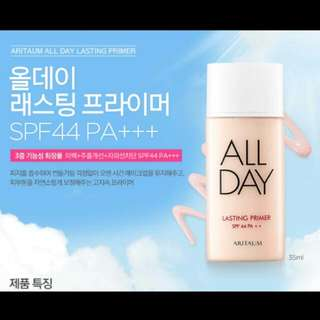 All Day Lasting Primer w/ SPF44++ PA++  (products are On-hand)