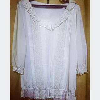SAMLIN white blouse