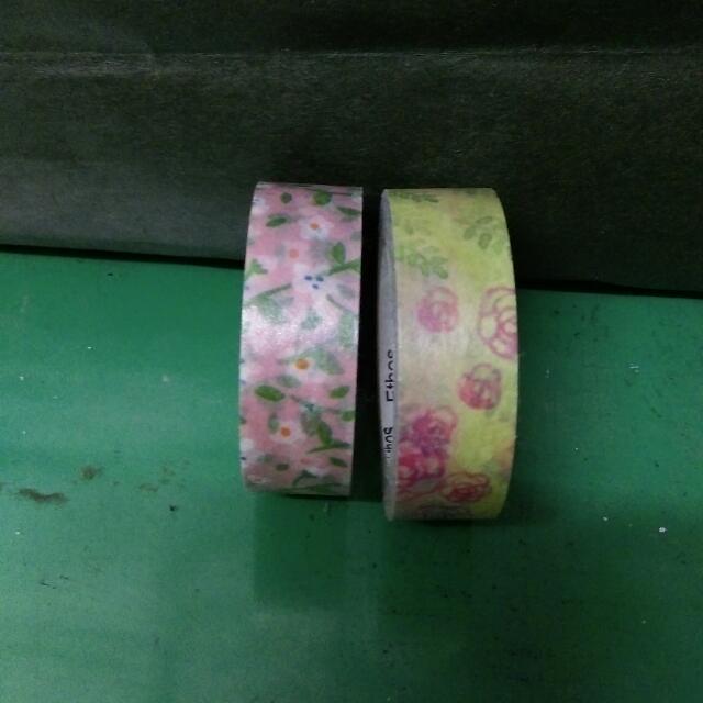 !出清!兩個一組 藝舍紙膠帶 整卷 分裝