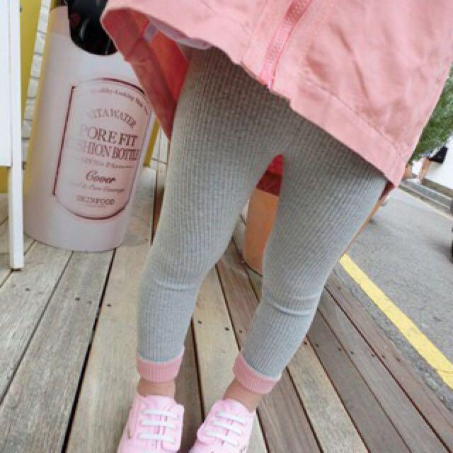 💥現貨💥 韓版 寶寶 撞色 打底 內搭褲 長褲