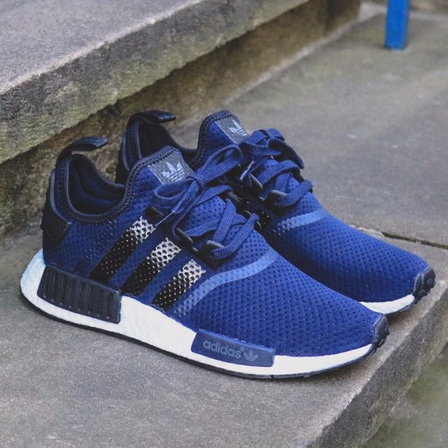 adidas nmd navy blue mens