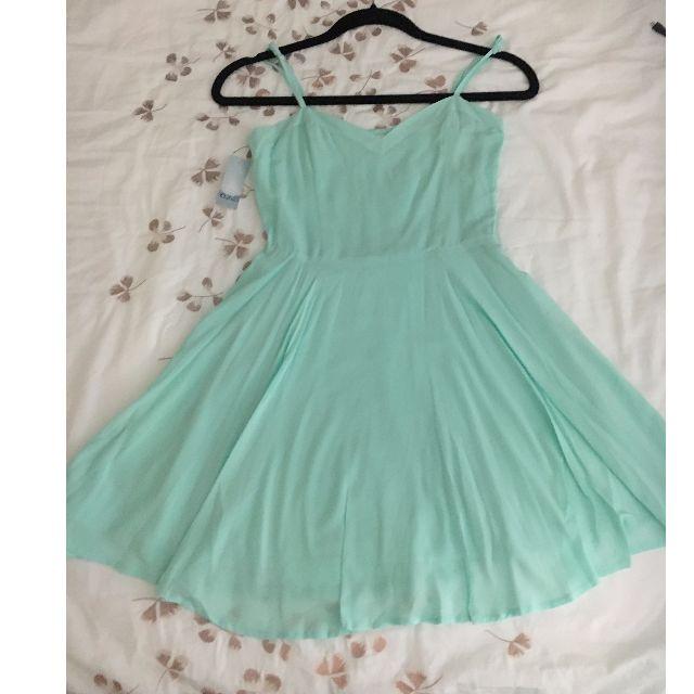 Aritzia Talula Lipinski Dress in Light Turquoise New With Tags!