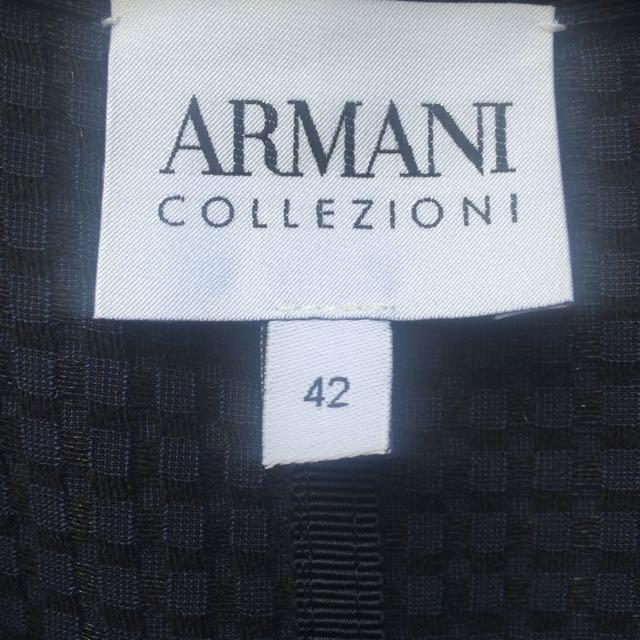 Armani Collezioni Brand New Navy Jacket Fit Aus10-12