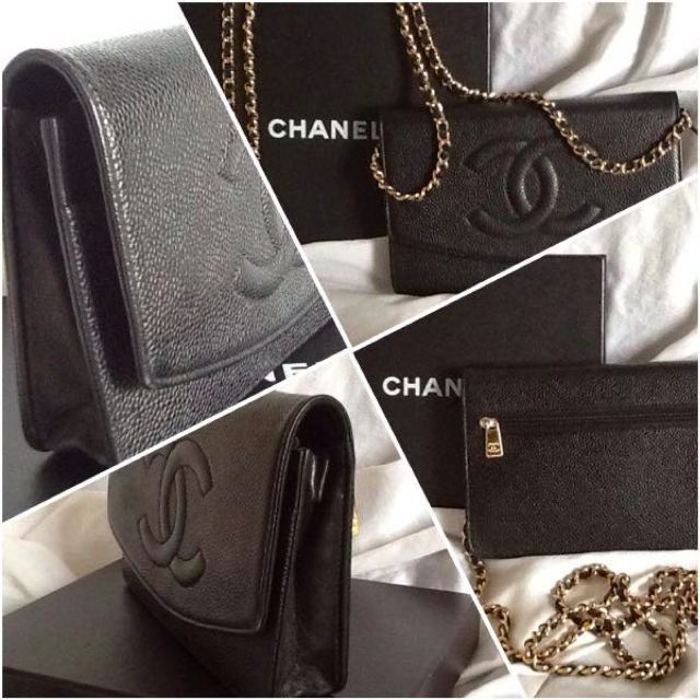 fb5525fac5e6 photo photo ... Chanel Chevron Caviar ...