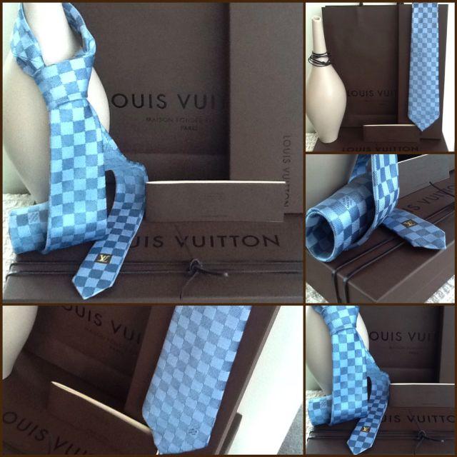 53674703b0ba Authentic - Louis Vuitton Tie