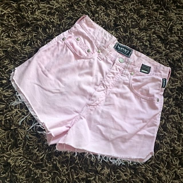 Authentic Versace High Waist Shorts