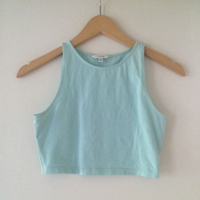 Baby Blue Talula Crop Top