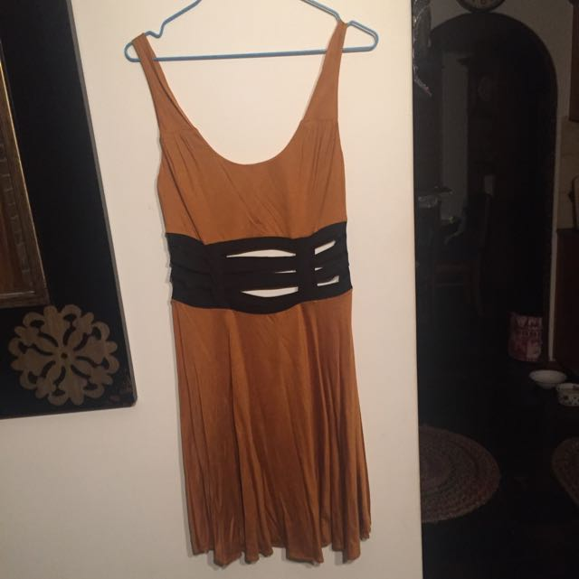 Bec & Bridge Dress With Cut Outs Size 10