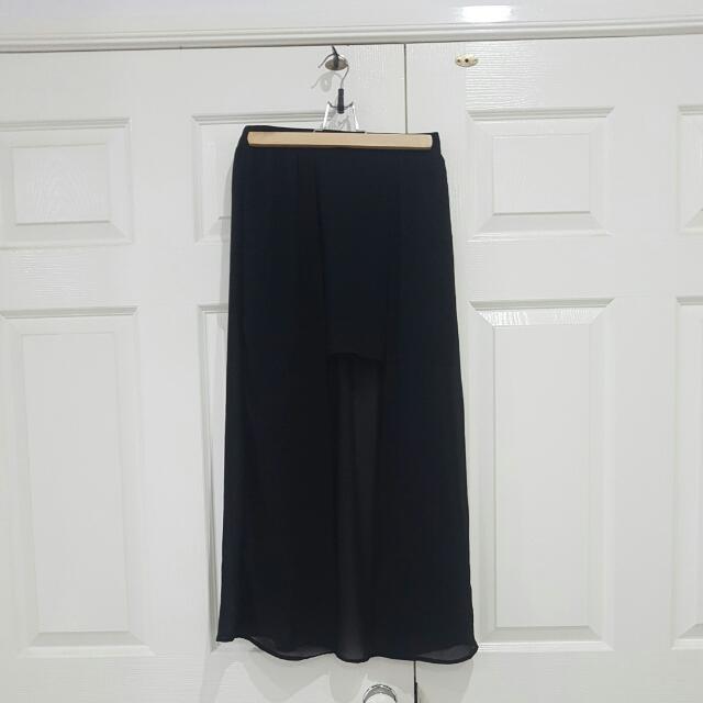 Black Maxi Skirt Sz 8