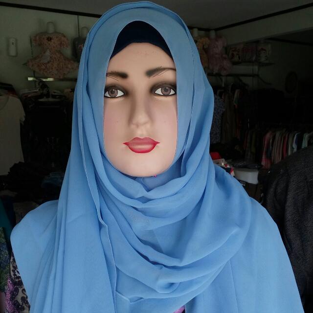 Blue Pashmina
