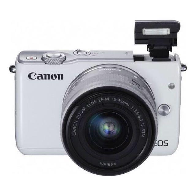 BEST SELLER CAMERA MIRRORLESS : Canon  M-10 (white)