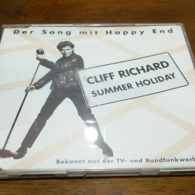 Cliff Richard Summer Holiday Maxi CD Single