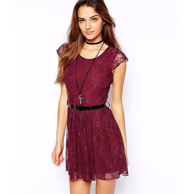 Club L Lace Skater Dress