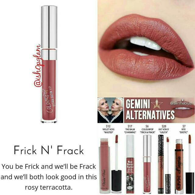 Colourpop UltraSatin Lips November