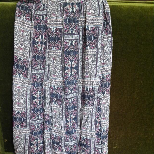 COTTON ON Paisley Violet  Skirt
