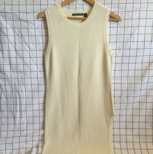 Country Road Cream Tunic Top