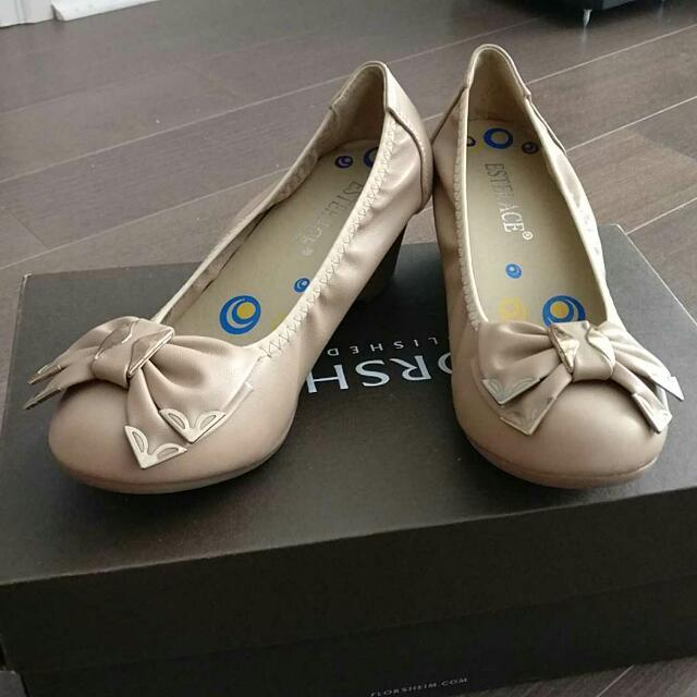 Ballet Shoes With Heel