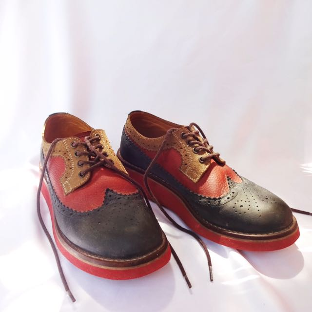 Derby Tritone Premium Leather - Portee Goods