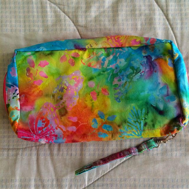 Dompet Batik Besar Biru