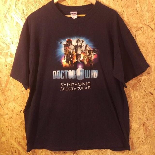 dr who symphony orchestra t shirt. XL