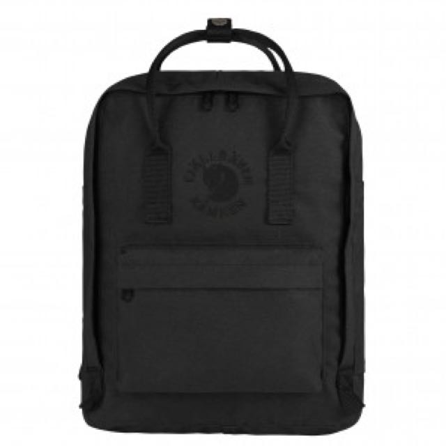 Fjallraven Re-Kanken Classic Black