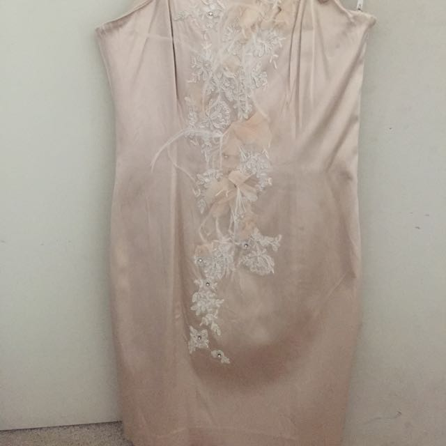 Forever New Nude Dress